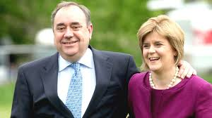 Alex Salmon and Nicola Sturgeon